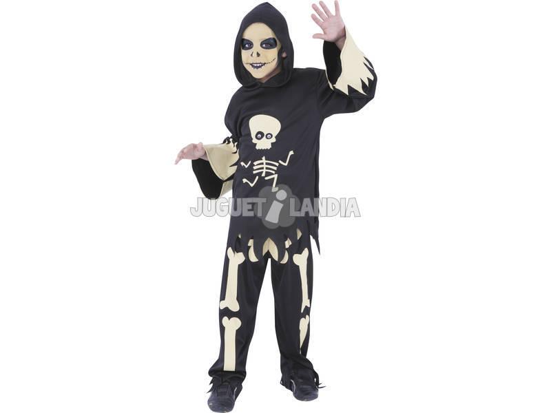 Disfarce de Esqueleto Com Olhos Móveis T-M Rubies S8372-M