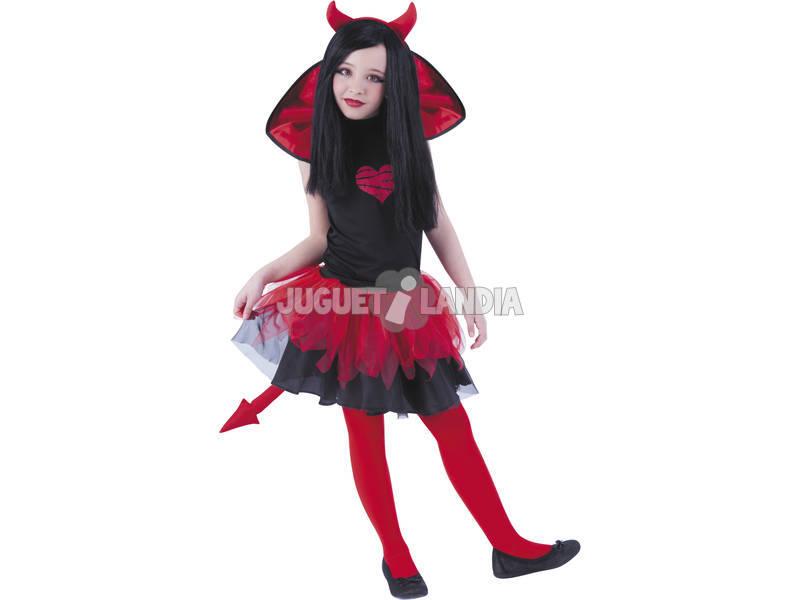 Disfarce de Diabo Tutuween T-L Rubies S8412-L