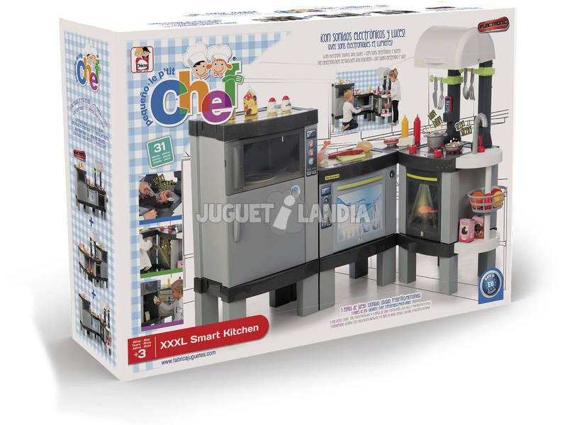 Pequeño Chef Cocina Smart XXXL Fabrica de Juguetes 85016