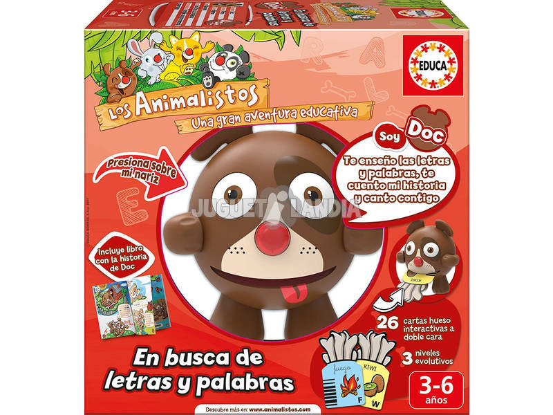 Educativo Electronico Animalisto Doc O Cãozinho - Letras Educa 17246