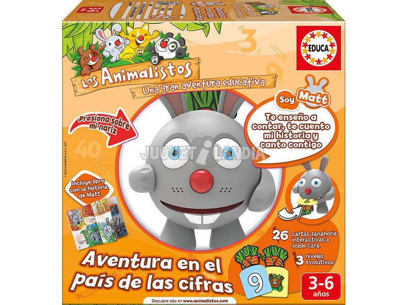 Educativo Electronico Animalisto Matt El Conejo - Cifras Educa 17245