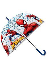 Spiderman Parapluie Manuel Transparent Dôme 48 cm. Kids Euroswan MV15283