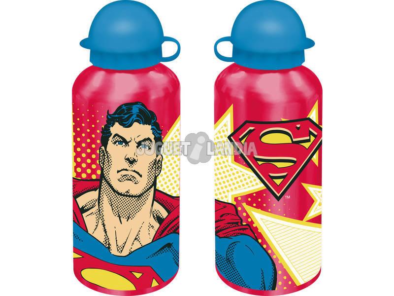 Batman e Superman Cantil Alumínio 500 ml Kids Euroswan DC16022