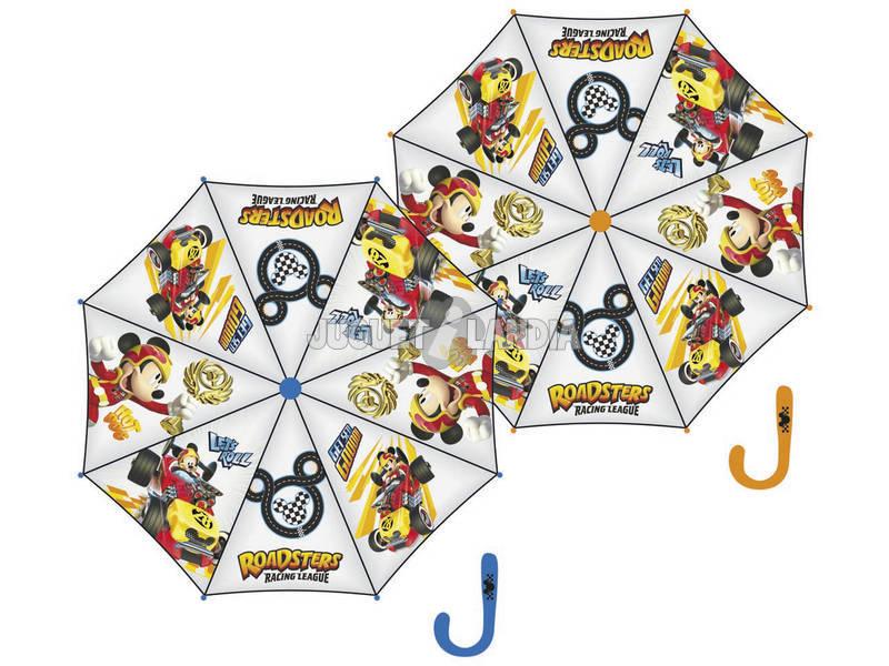 Chapéu - de - chuva 48/8 Manual Transparente Mickey E Os Superpilotos Arditex WD11605