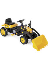 Trattore a pedali con Escavatore 51x125x51 cm