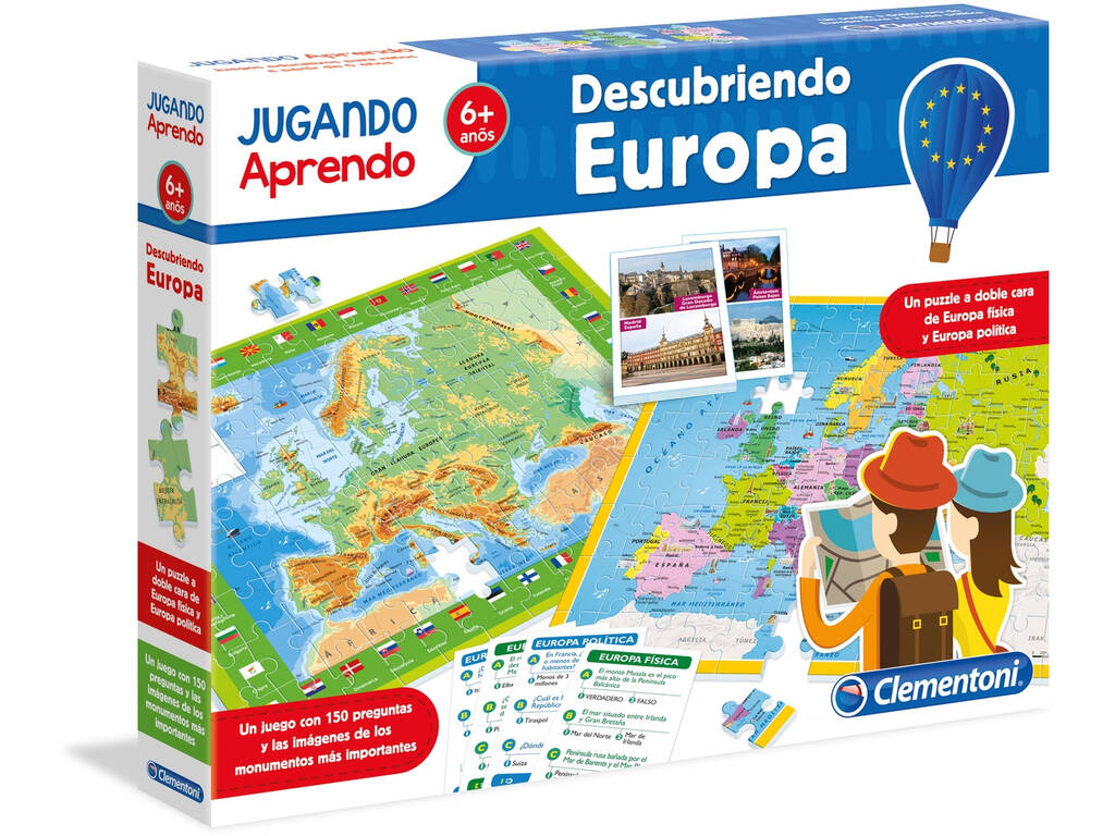 Geo Map Discover Europe