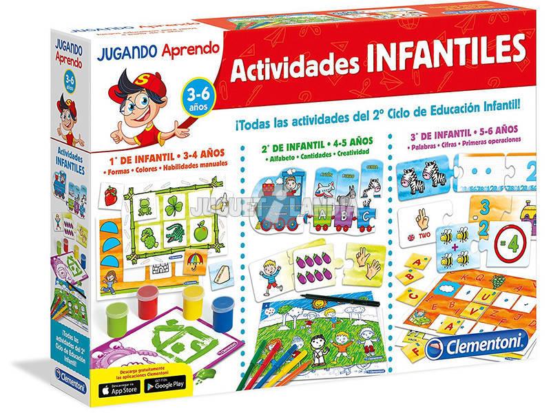 Actividades infantis 1º 2º 3º Clementoni 65557