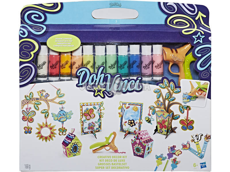 Manualidades Play - Doh Super Set Decorativo Dohvinci HASBRO C0915