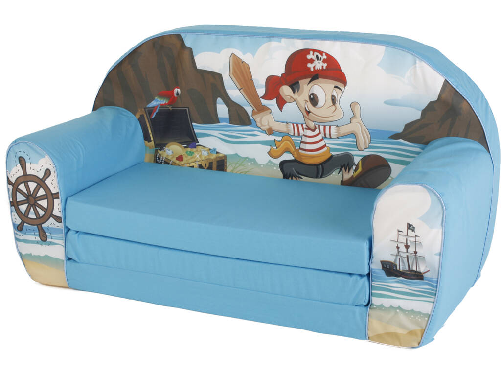 Divano pirata azzurro juguetilandia for Divano wonder