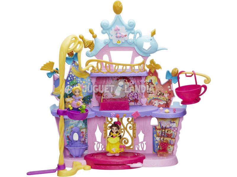 Castelo Musical Mini Princesas Disney Com Bonecas e acessórios Hasbro C0536