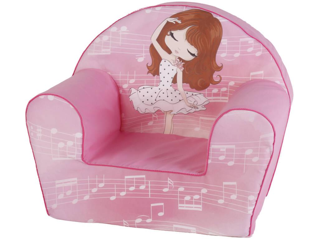 Poltrona Bela Musical Rosa