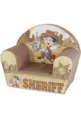 Sillon Sheriff Marron