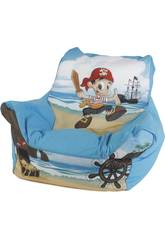 Sillon Puff Pirata Azul