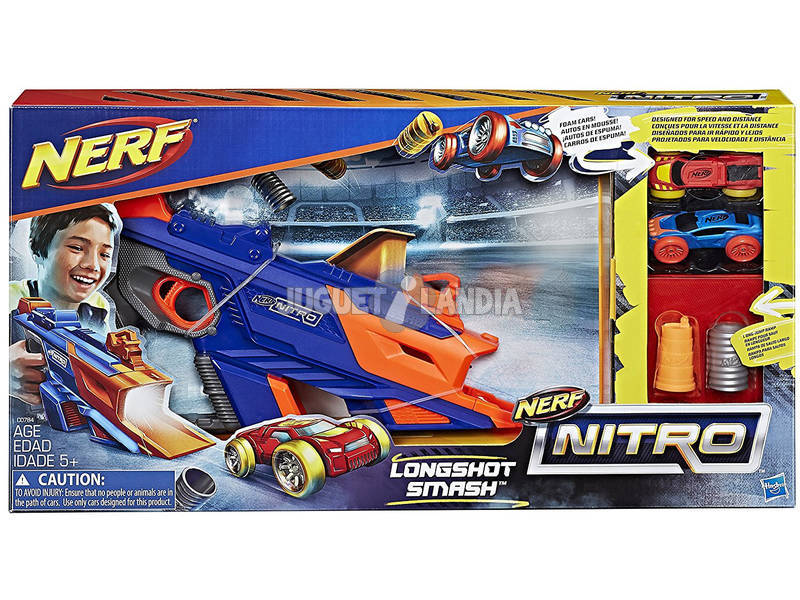 Nerf Nitro Longshot Smash Hasbro C0784