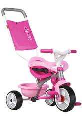 Triciclo Be Move Confort Rosa Smoby 740404