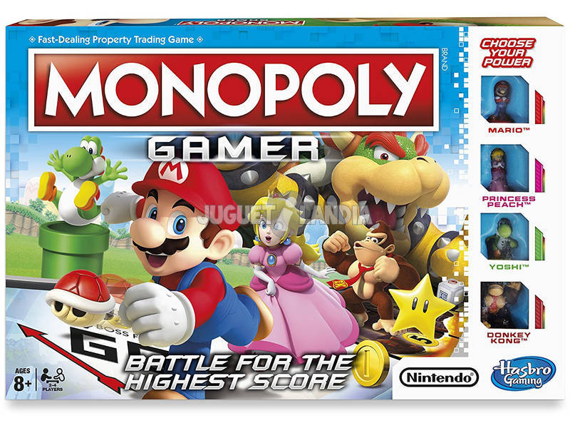 Monopoly Gamer Hasbro C1815