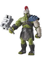 Figurine 34 cm Hulk Gladiateur Interactif Thor Ragnarok Hasbro B9971105