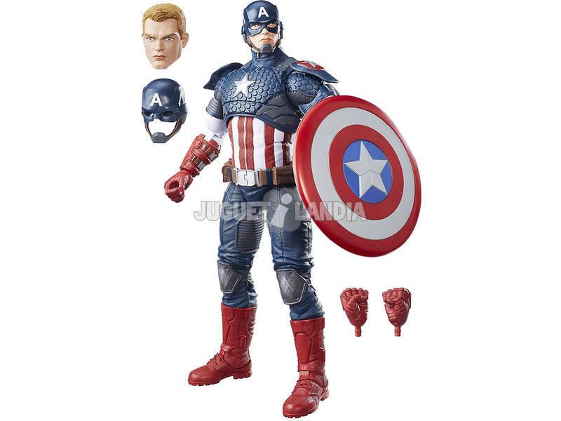 Figura Marvel Legends Capitão América 30cm Hasbro B7433
