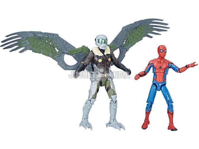 Figura Pack 2 Spiderman Legends 9 cm Hasbro C1406