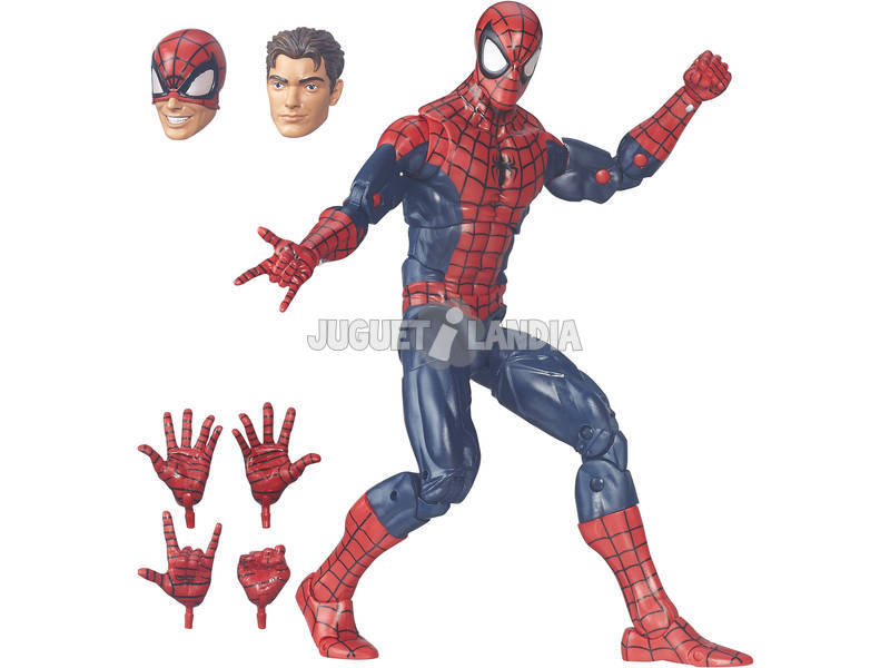 Figura Spiderman Legends 30 Cm Hasbro B7450