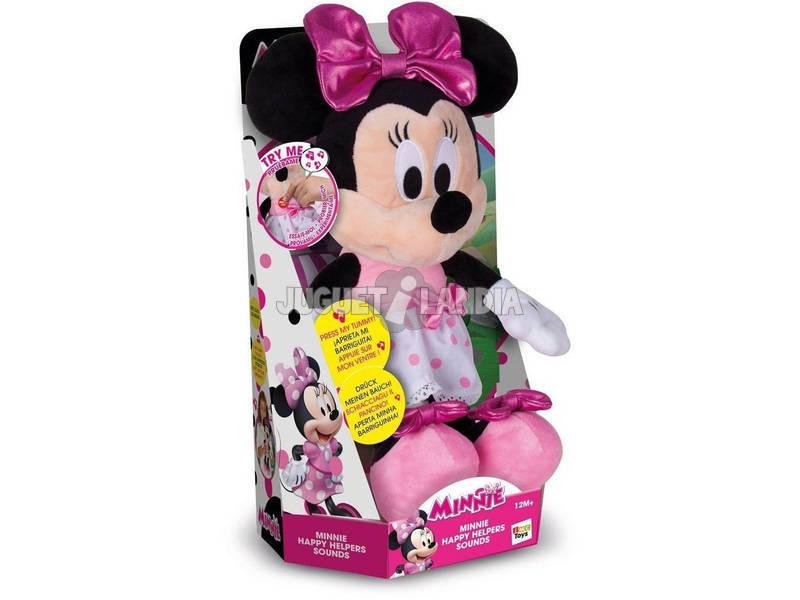 Minnie feliz ajudantes sons engraçados