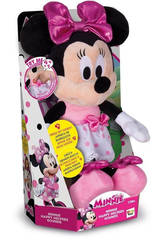 Minnie Peluche Happy Helpers Funny Sounds IMC TOYS 182417