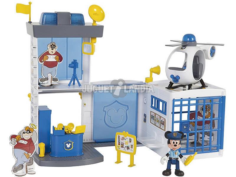 Mickey Mouse Delegacia de Polícia IMC TOYS 182356