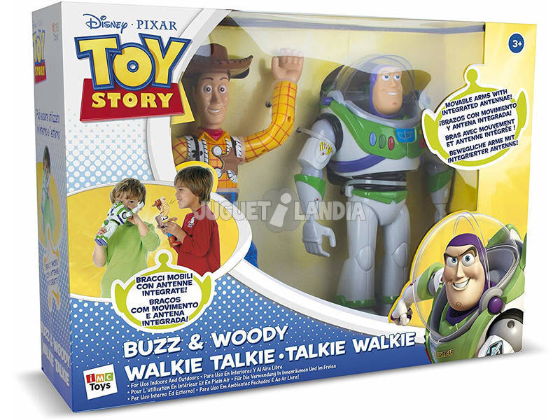 Toy Story Walkie Talkie Buzz E Woody IMC Toys 140400