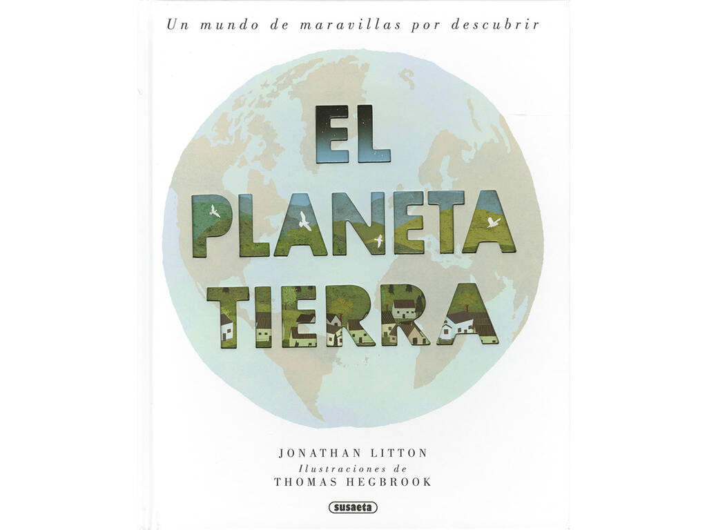 Livro El Planeta Tierra (O Planeta Terra)Susaeta Ediciones S2052999