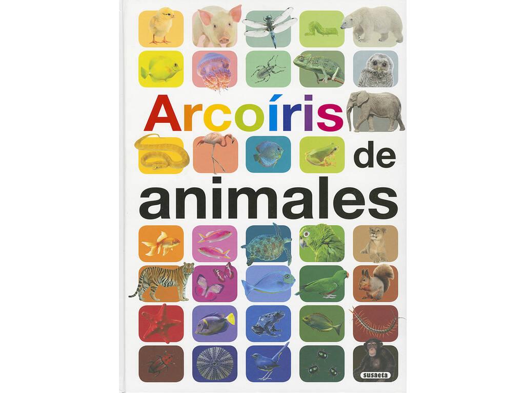 Livro Arcoiris de Animales (Arco - íris de Animais) Susaeta Ediciones S2053999