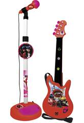 Micro et Guitare Lady Bug Claudio Reig 2675