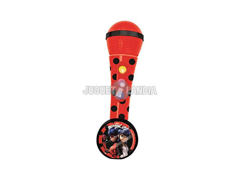 Microfone com Amplificador e Ritmos Ladybug Claudio Reig 2681