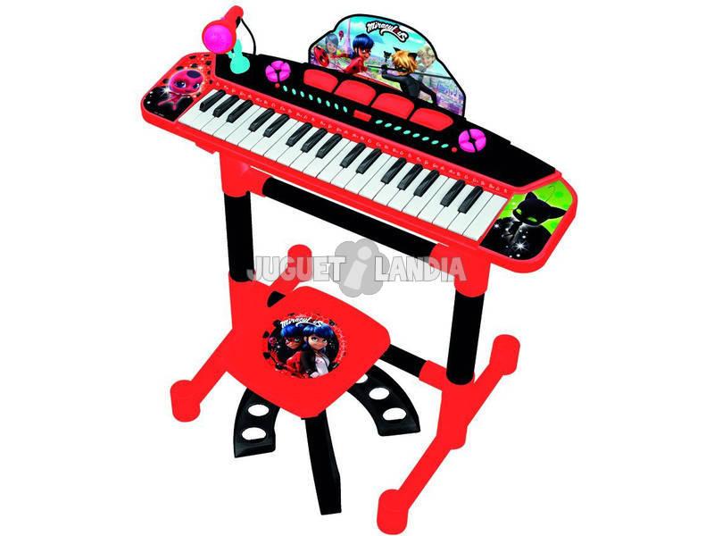 Órgão com Pé e Banqueta Lady Bug Claudio Reig 2686