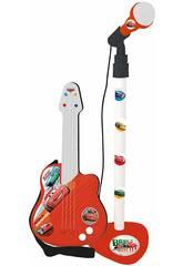 Micrófono y Guitarra Cars Claudio Reig 5309