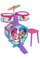 Batterie Simple avec Tabouret Shimmer and Shine Claudio Reig 3511