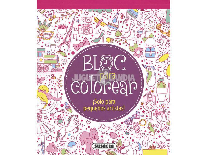 Bloco Para Colorir ... (2 Livros) Susaeta Ediciones
