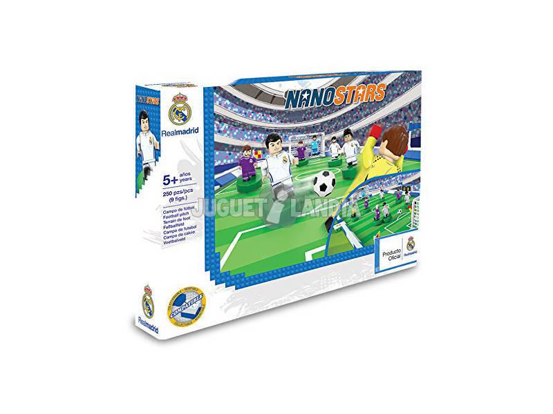 Nanostars Real Madrid Estadio con 9 Figuras Giochi Preziosi 3223
