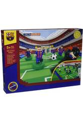 NanoSterne Futbol Club Barcelona Stadium mit 9 Figuren Giochi Preziosi 3229