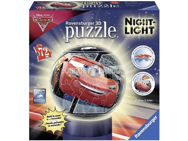 Puzle 3D Luminária Cars 3 Ravensburger 11820