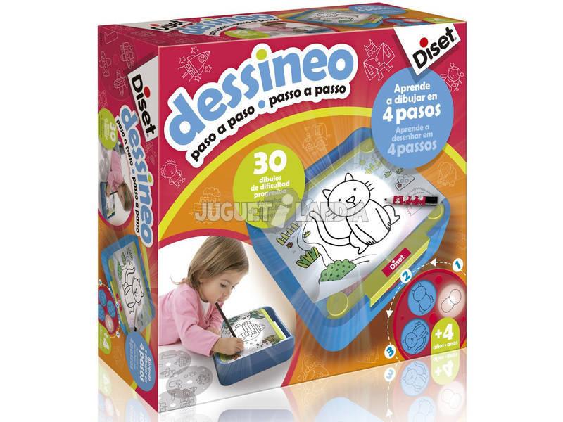 Dessineo aprenda a desenhar passo a passo DISET 60186