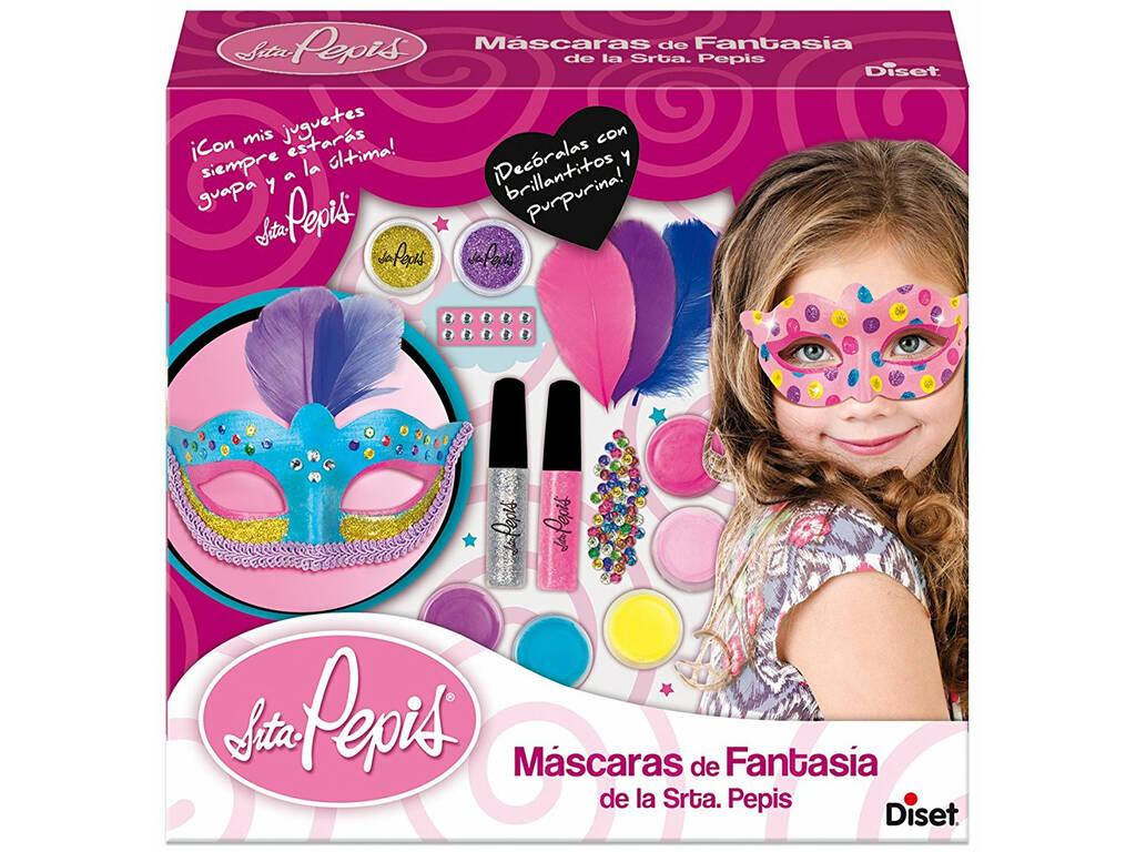 Máscaras de Fantasia da Senhorita Pepis