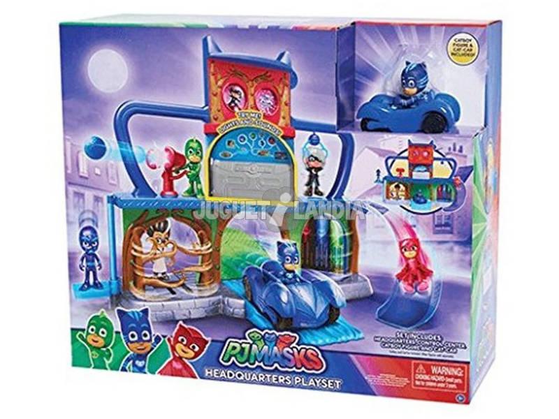 Playset PJ Mask Base Secreta Bandai 24560