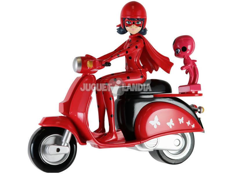 Joaninha Figura com Moto 14cm Bandai 39880