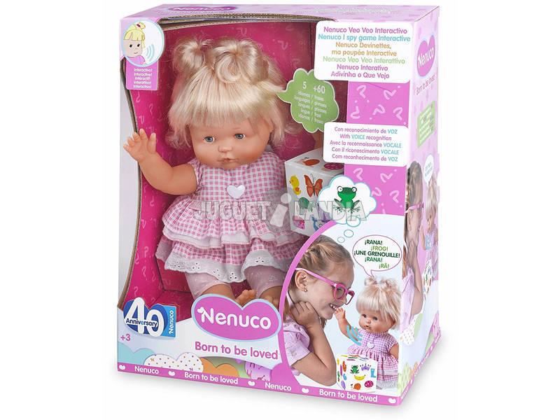 Nenuco Vejo Vejo Boneco Interactivo 30cm Famosa 700013880