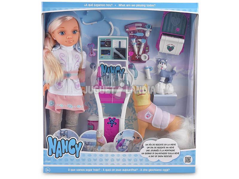 Boneca Nancy Um Dia de Resgate na Neve 43 cm Famosa 700013525