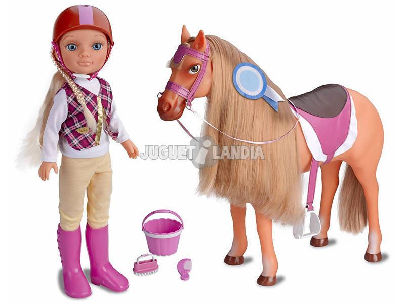 Nancy Boneca Um Dia de Aventuras a Cavalo Famosa 700013890