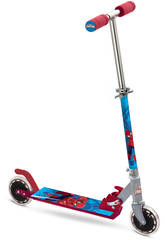 Trottinette Aluminium 2 Roues Spiderman Mondo 18394