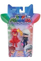 PJ Masks Figuras Com Bandai Leve 24810