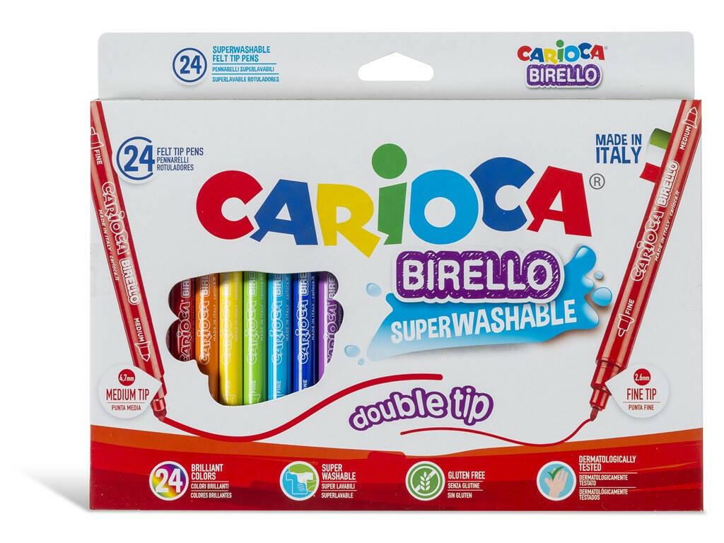 Pennarelli Birello 24 Pezzi Carioca 41521