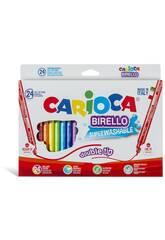 Feutres Birello 24 unités Carioca 41521